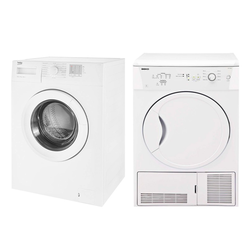 Beko 7kg Washer Amp Condenser Dryer Rental Package Rent To