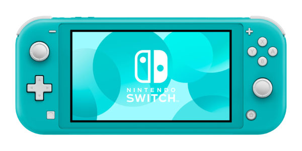 2 Switch Light Turquoise Front