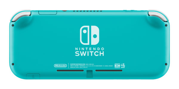 3 Switch Light Turquoise Back