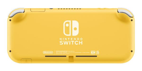 Switch Light Yellow Back