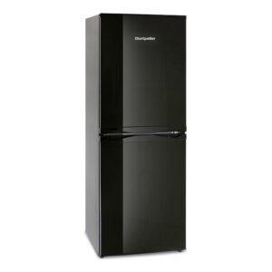 Montpellier Fridge Freezer Black